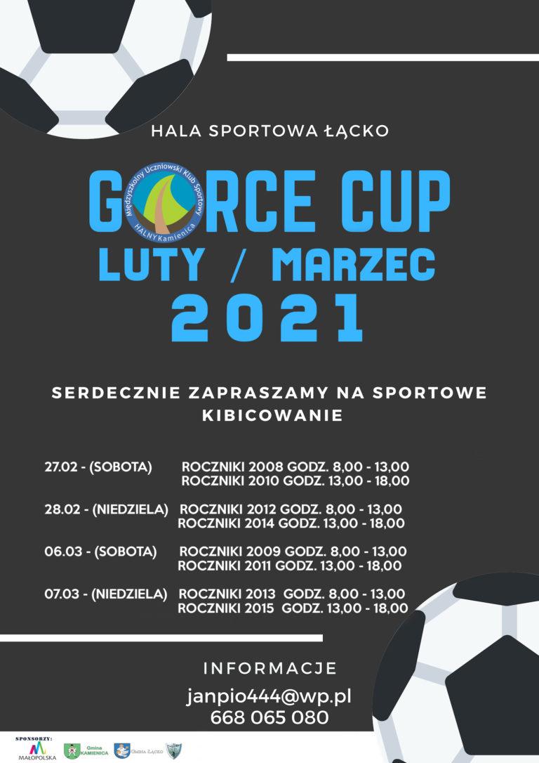 HALOWY TURNIEJ PIŁKI NOŻNEJ GORCE CUP 2021